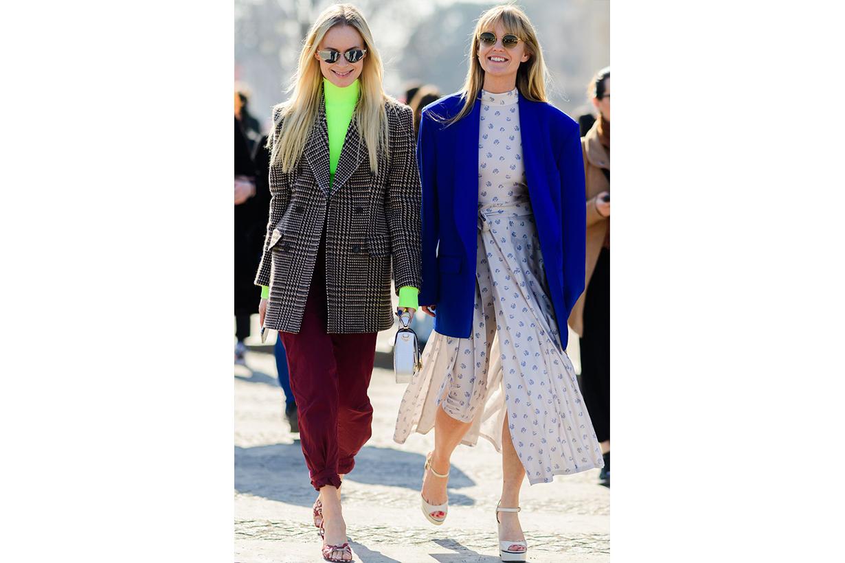 blazer dress street style