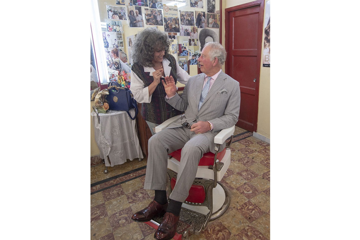 prince charles in hair salon