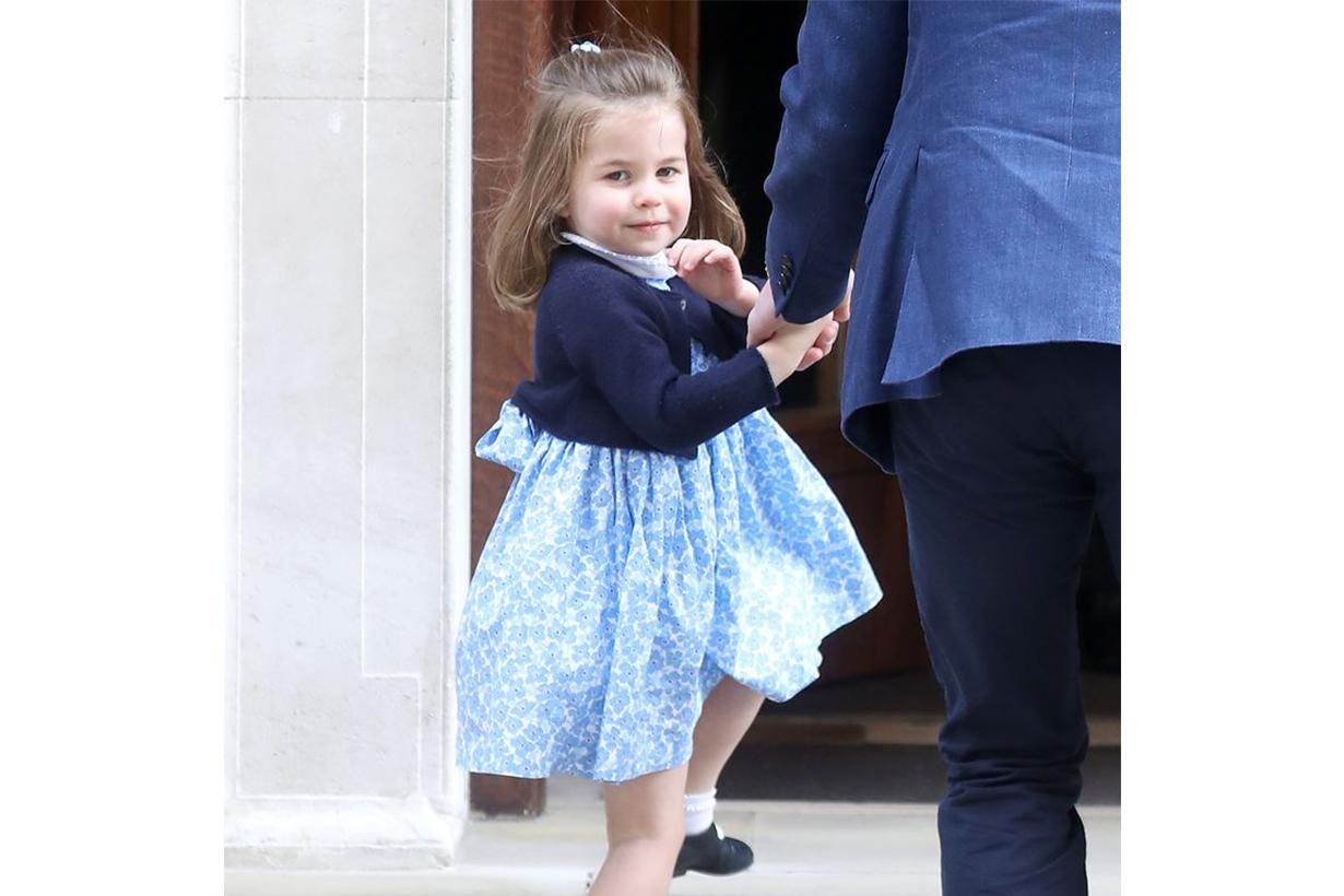 Princess Charlotte Royal Wave