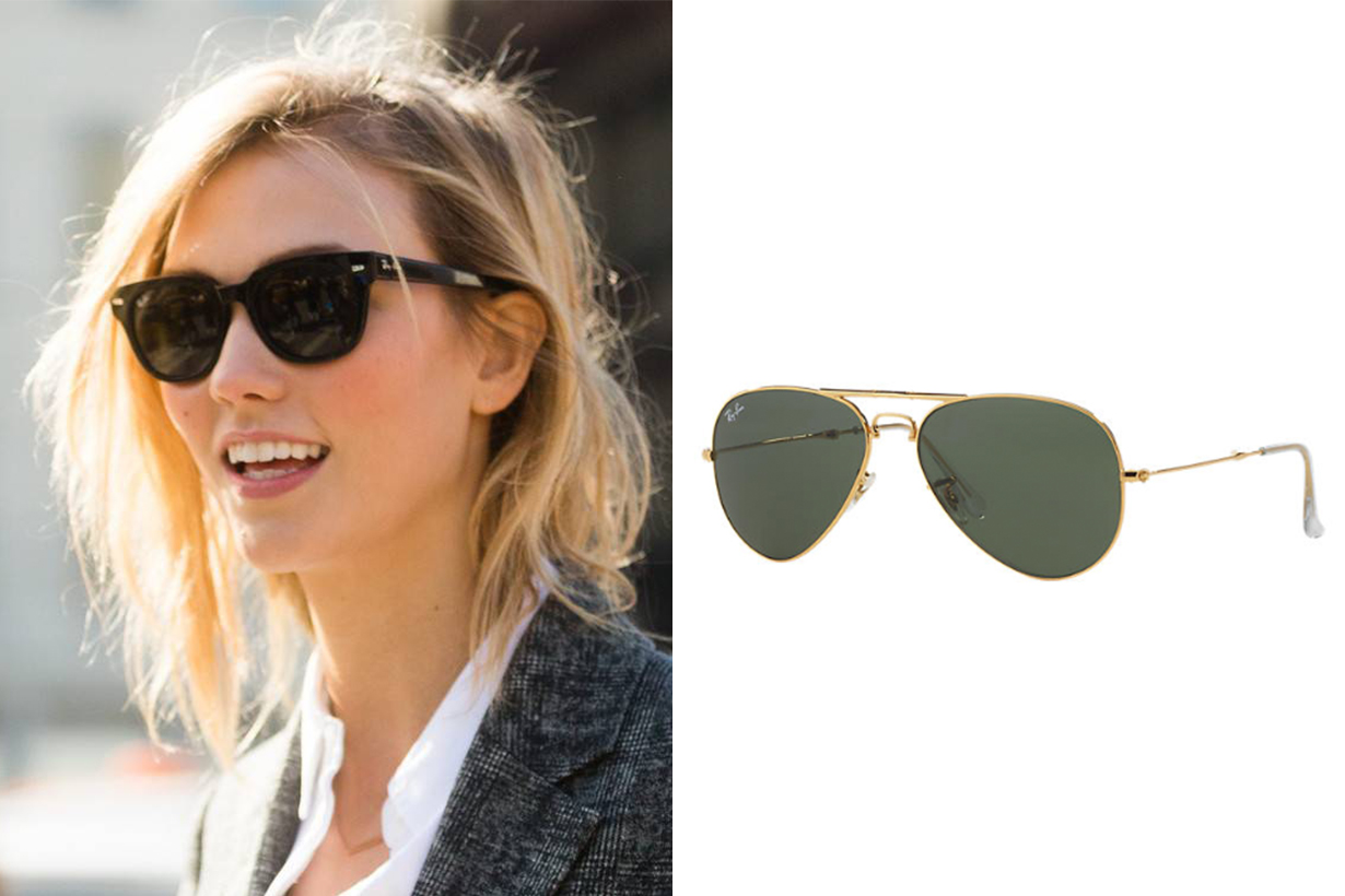 Ray-Ban Aviators Folding Karlie Kloss