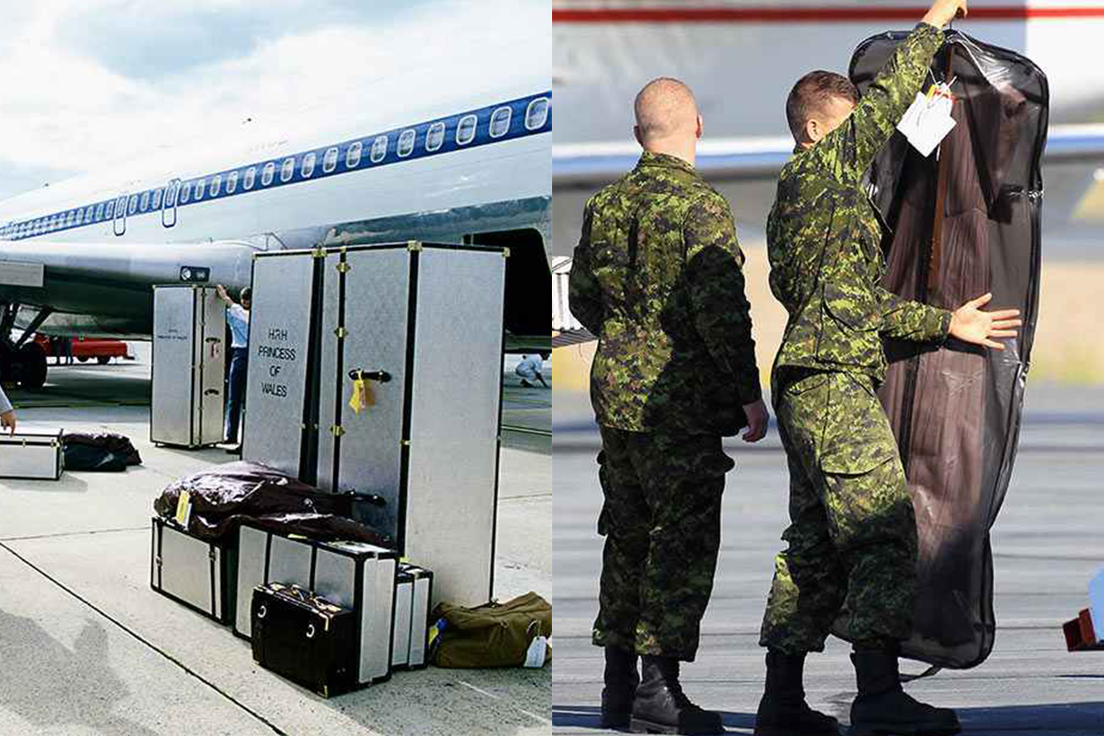 Royal Tour Luggage Princess Diana Kate Middleton