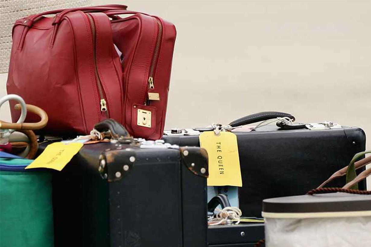 Queen Elizabeth II Bag Tag
