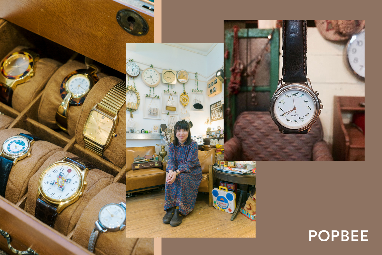 Rubbish B hong kong mong kok local vintage shop interview vintage bags accessories home decoration daily uses toys watches perfumes cosmetics