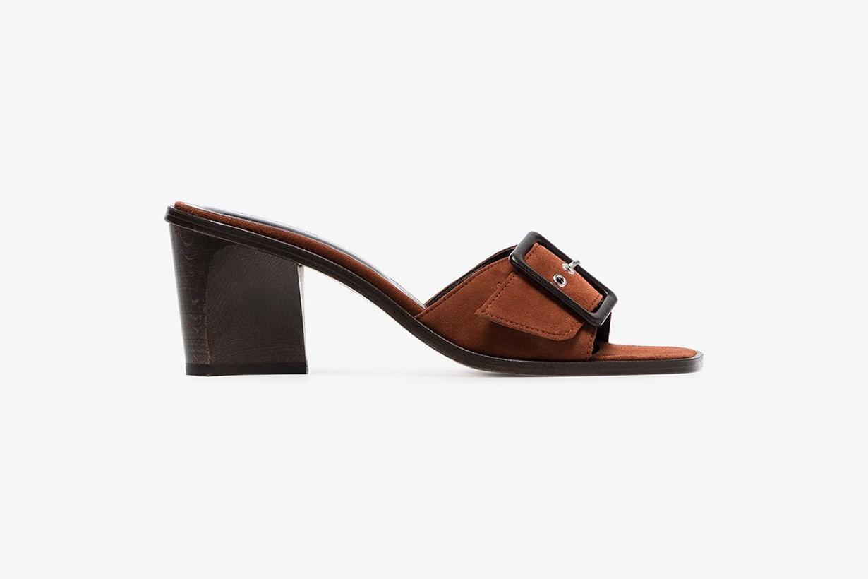 mango sandal heel