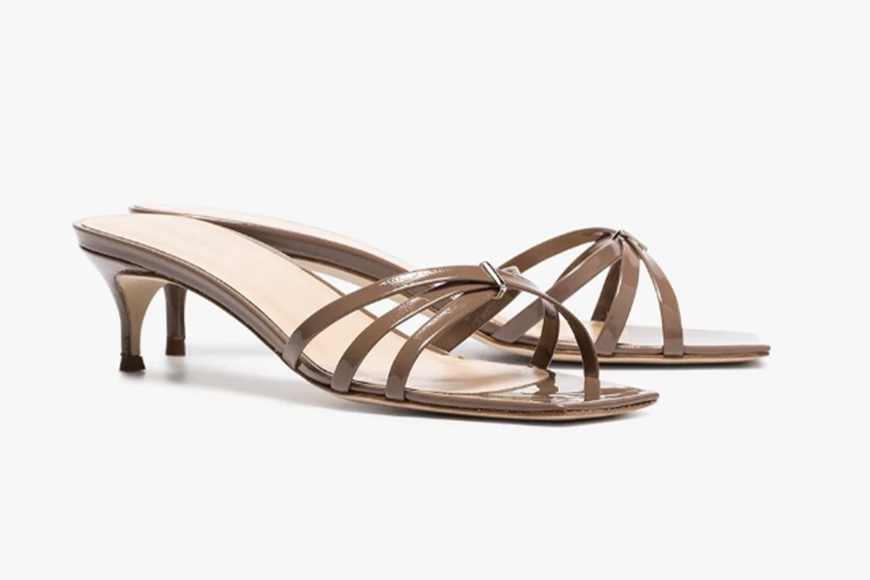 by far strappy mules