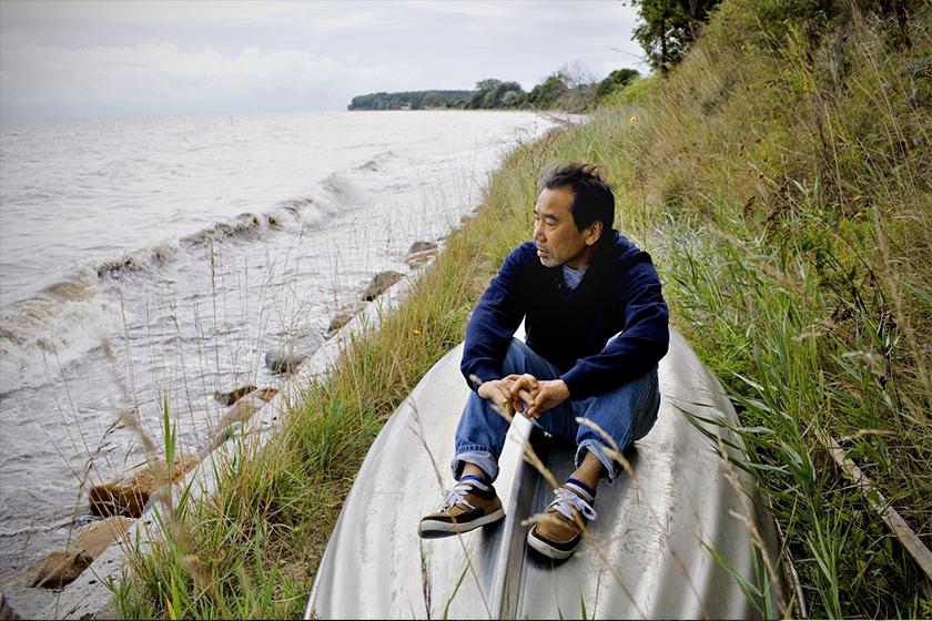 haruki murakami talk about social media