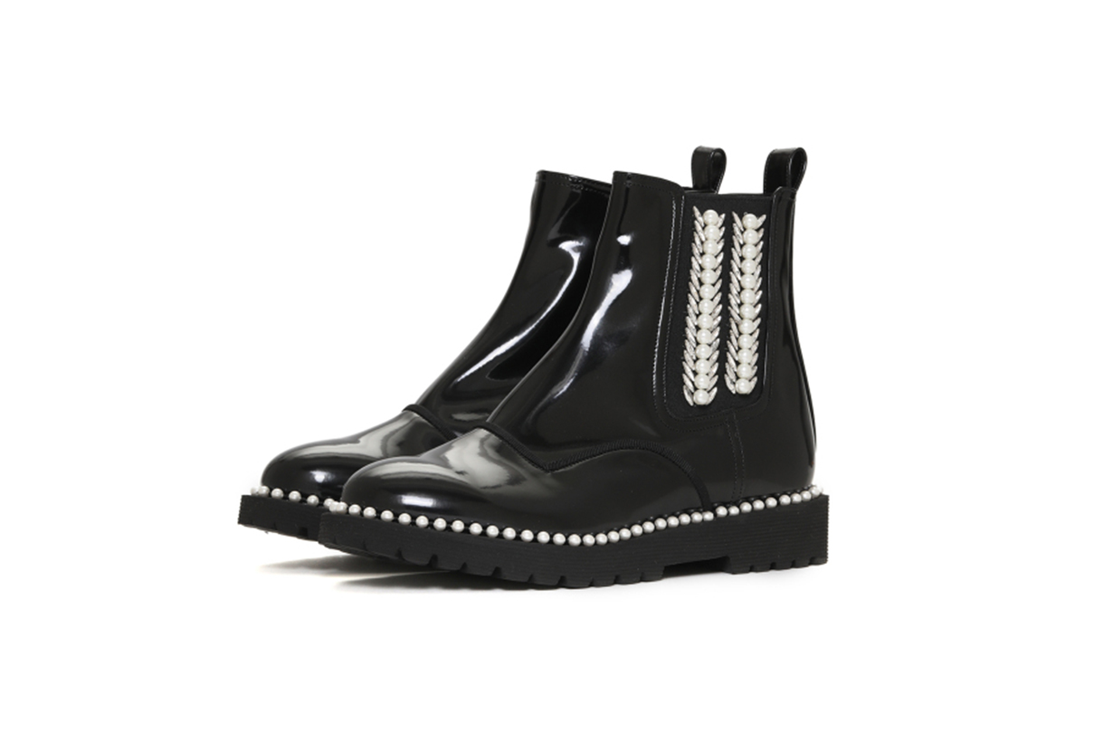 SUECOMMA BONNIE Jeweled Ankle Boots