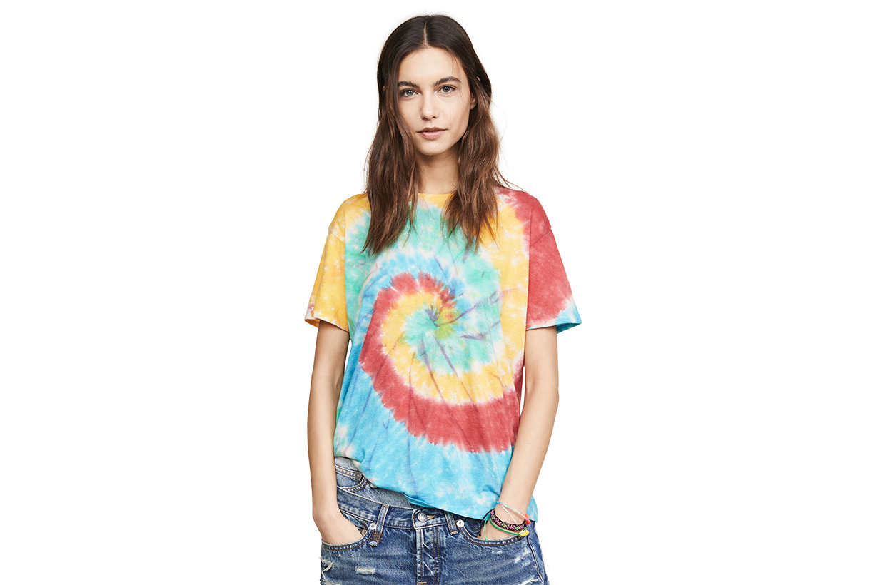tie dye fashion is taking over the world