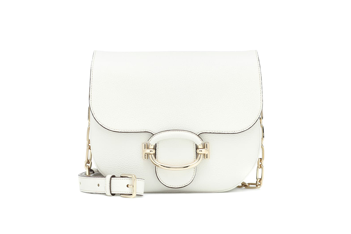 TOD'S T Ring Mini Leather Shoulder Bag
