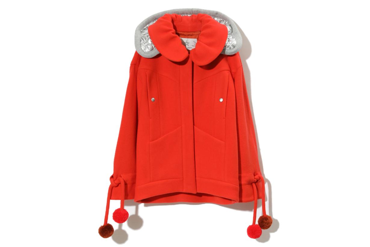 Tsumori Chisato Peter Pan Hooded Jacket