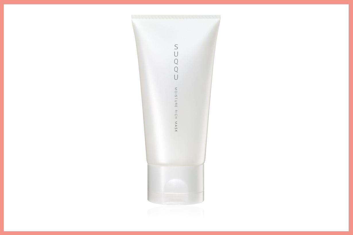 Victoria Beckham SUQQU Moisture Rich Mask Face Stretch Sheet Mask Emma Watson Japanese skincare face lifting moisturising