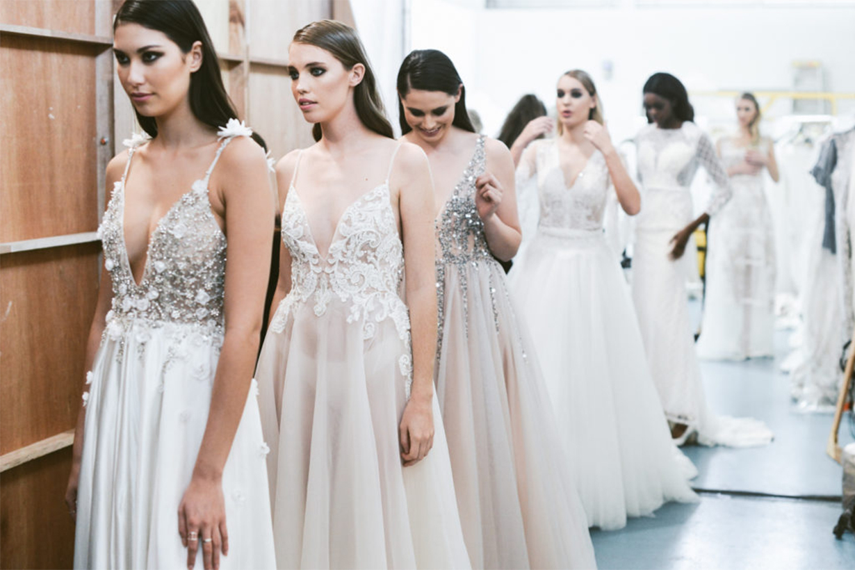 Bridal Runway Backstage