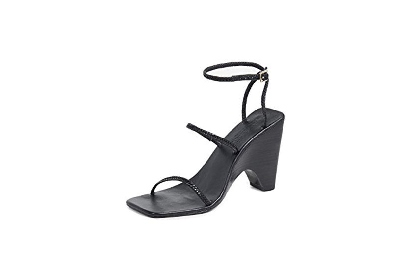 Jaggar Woven Strappy Wedges