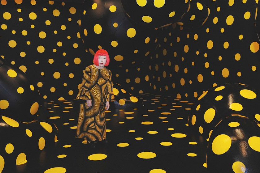 yayoi kusama the new exhibition at the fondation Louis vuitton in paris