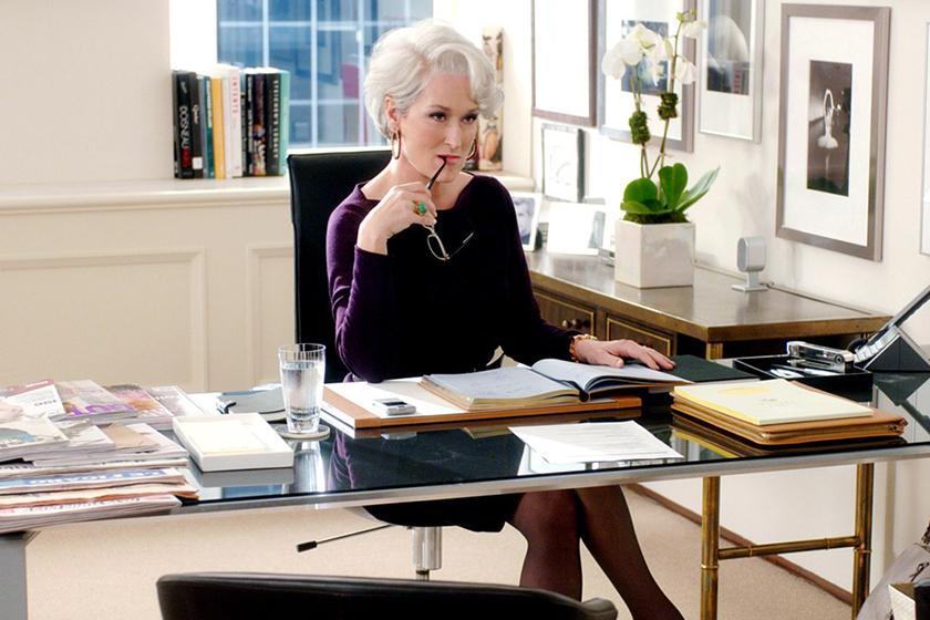 Meryl Streep The Devil Wears Prada back