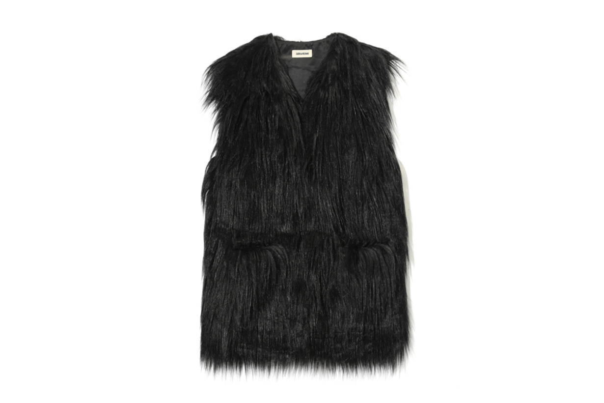 ZADIG & VOLTAIRE Fete Yeti Fluffy Vest