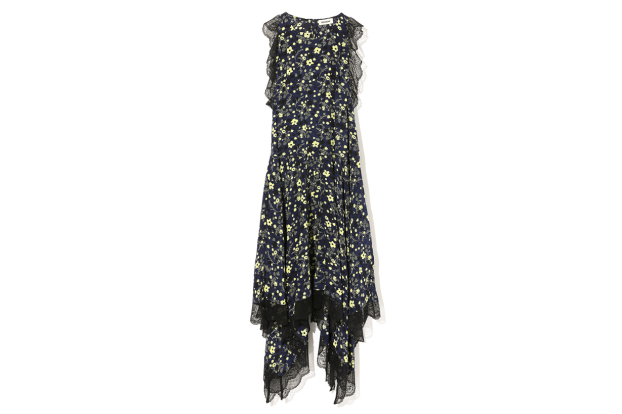 ZADIG & VOLTAIRE Retro Flower Print Dress