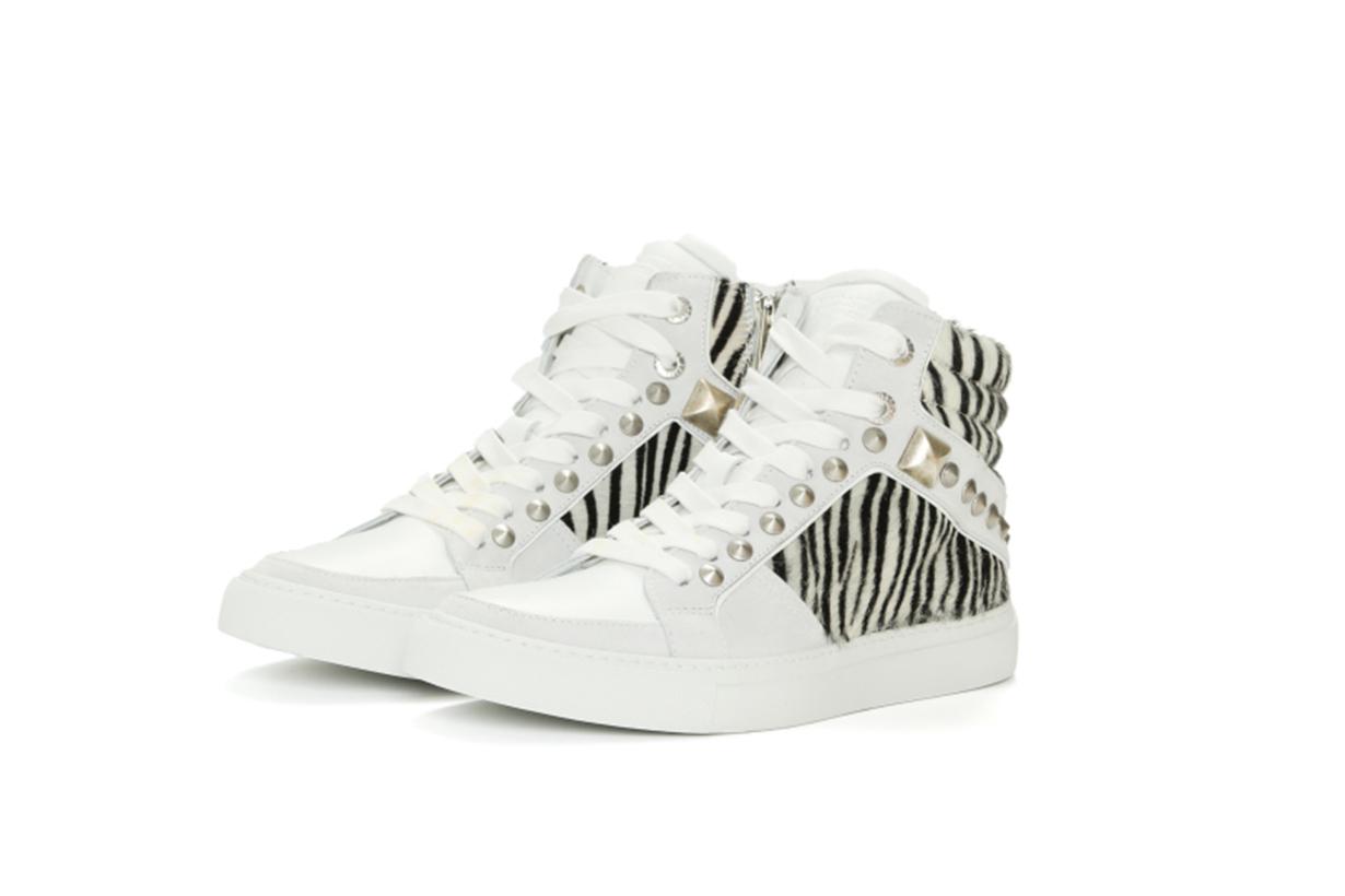 ZADIG & VOLTAIRE ZV1747 Mid Safari Sneakers