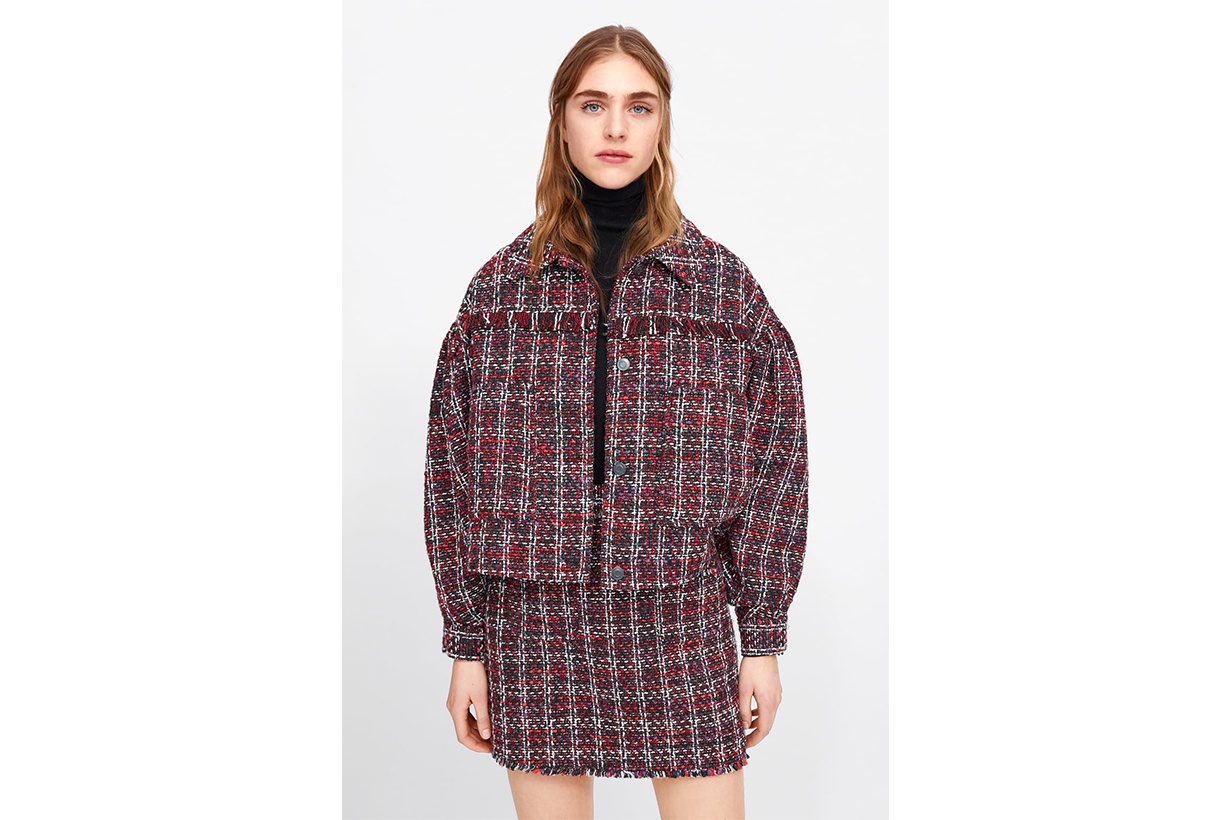 Zara Tweed Jacket