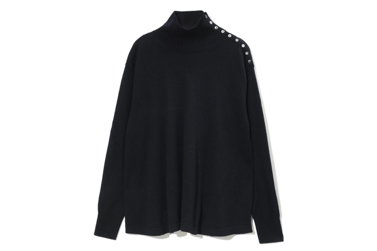 ZUCCa Button Detail Knit Sweater