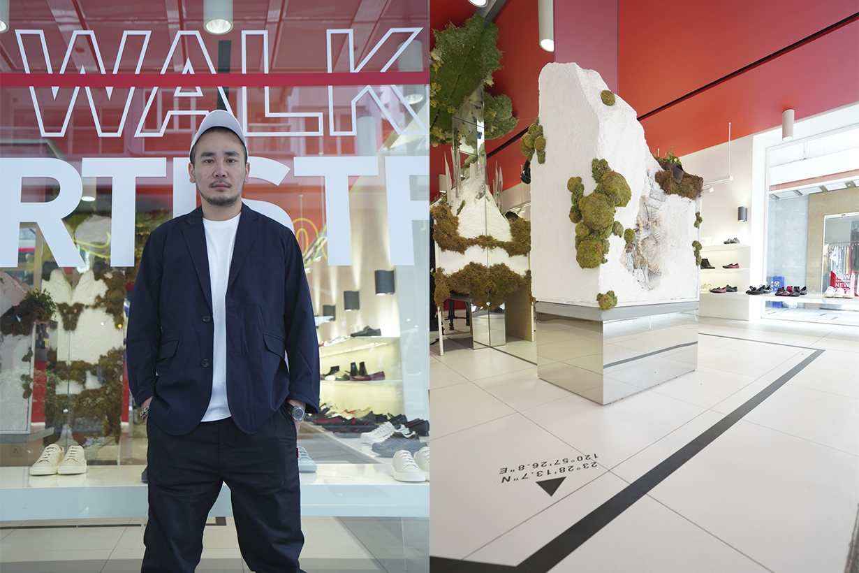 Taiwanese Artist Lee Chi X Camper Walk Artistry Exhibition