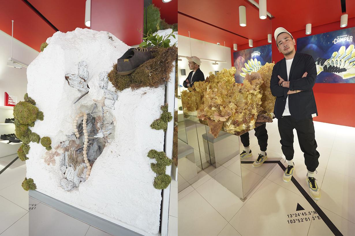 Taiwanese Artist Lee Chi Walk Artistry Exhibition