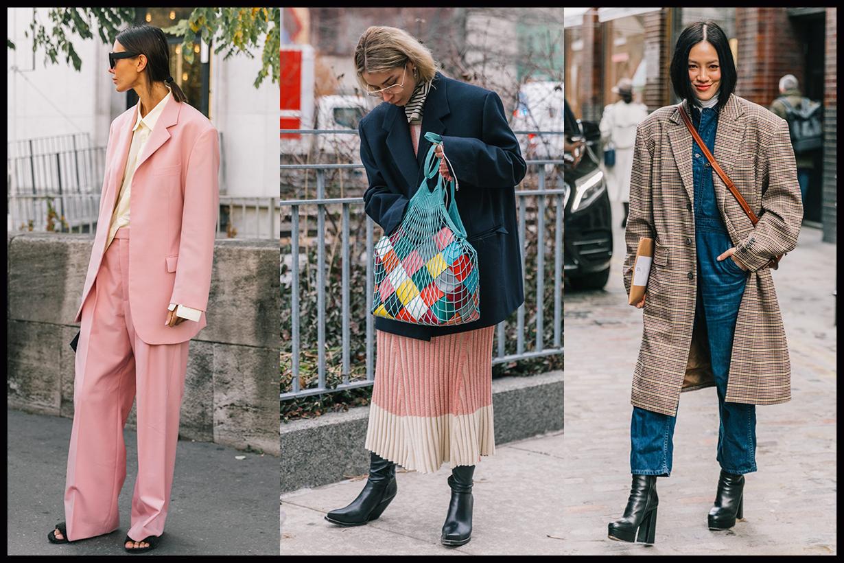 80s street style trend boxy blazer