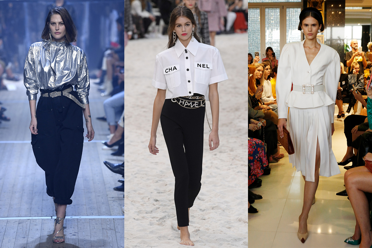 1980S Style Trend Runway Chanel