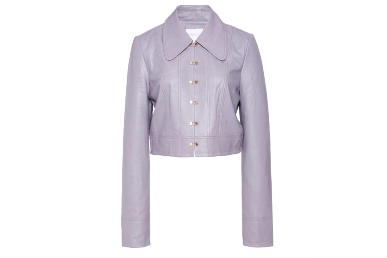Alice McCall Sweet Street Leather Jacket