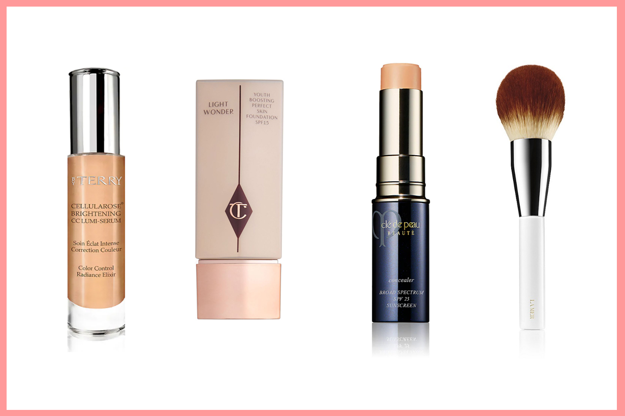 Blake Lively  makeup cosmetics skincare collection revealed Caudalie La Mer Charlotte Tilbury By Terry Cle De Peau Beauty Dior Hourglass lip balm lipstick foundation makeup brush contouring bronzer mascara
