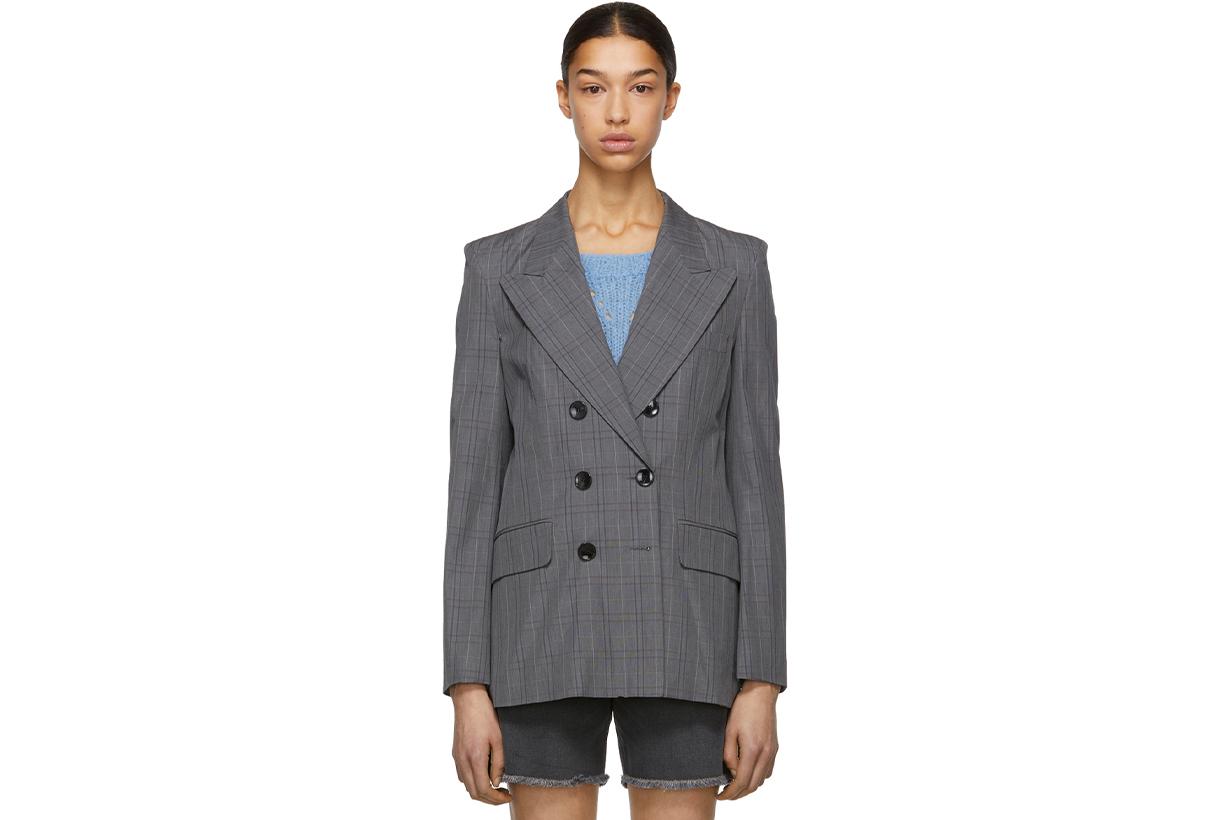 Isabel Marant Etoile Grey Iliane Blazer