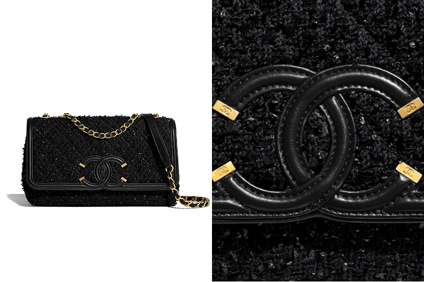 Chanel-CC-Filigree-flap-bag-black