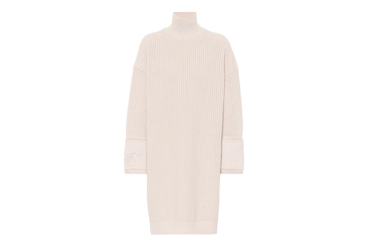 Fendi Cashmere Sweater Dress