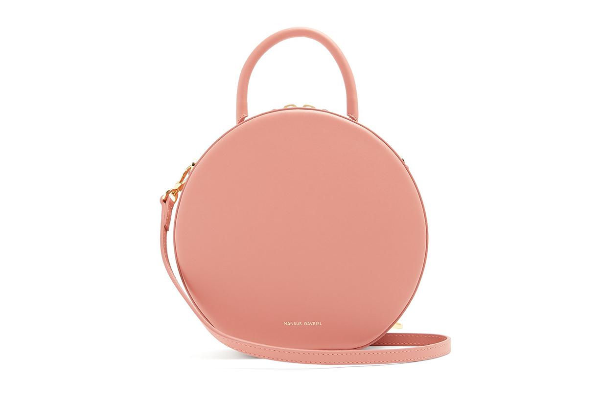 Mansur Gavriel Circle Leather Cross-Body Bag
