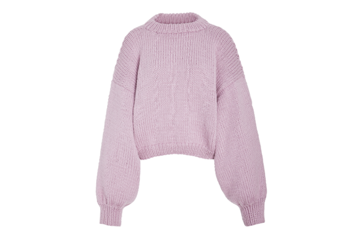 I Love Mr. Mittens Jackie Balloon Sleeve Wool Sweater