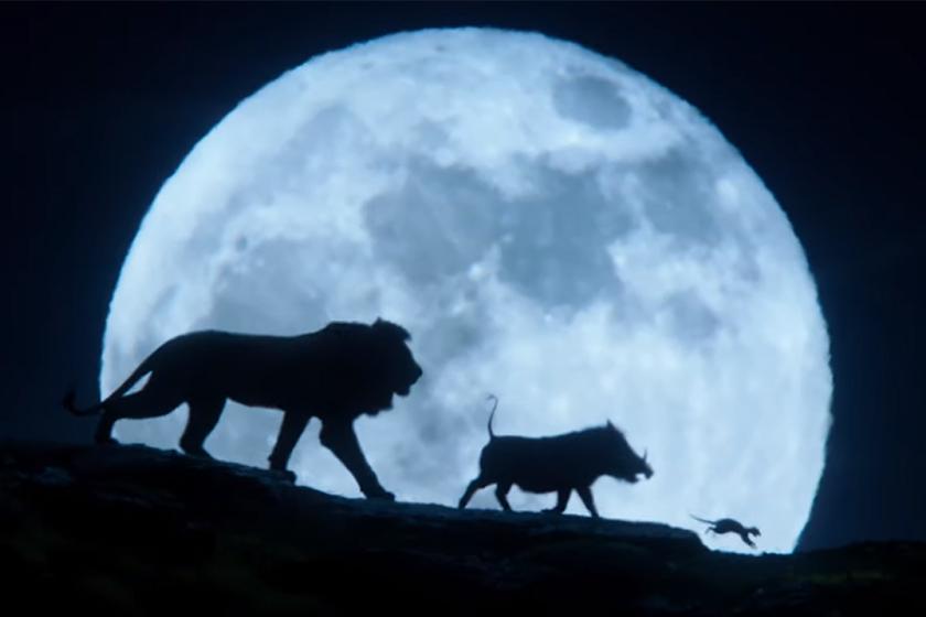Disney The Lion King trailer Pumbaa Timon