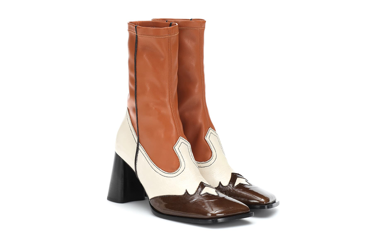 ELLERY Leather Ankle Boots