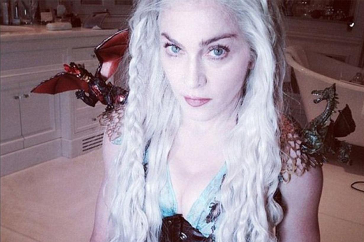 Madonna Game of Thrones Daenerys