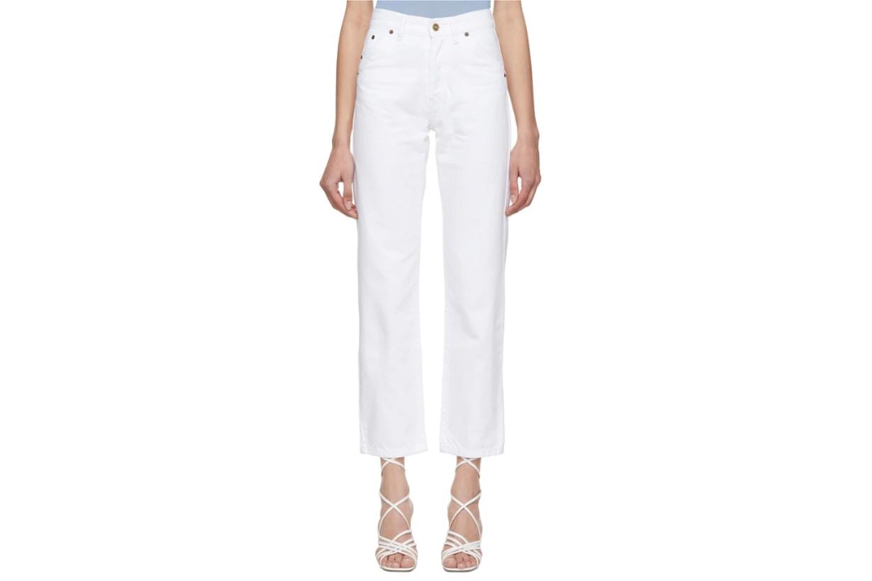 Jacquemus White 'Le Jean' Jeans