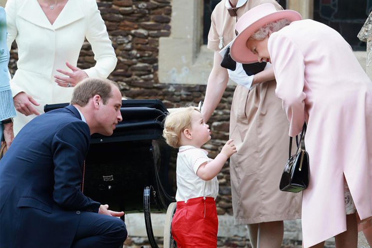 Queen Elizabeth II Prince George