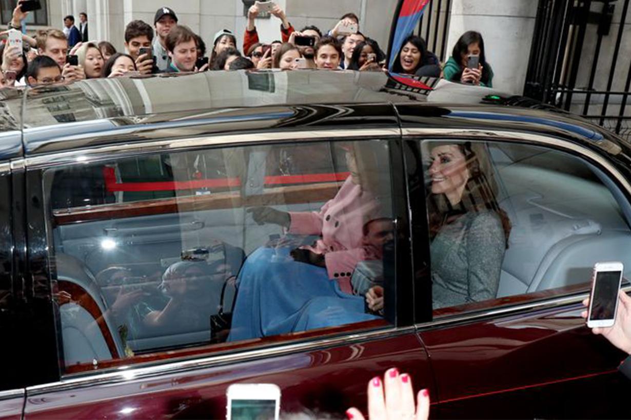 Kate Middleton Queen Elizabeth Car Blanket