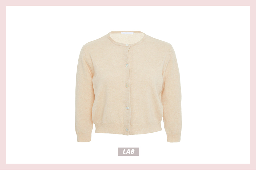 Lab Cropped Cashmere Cardigan