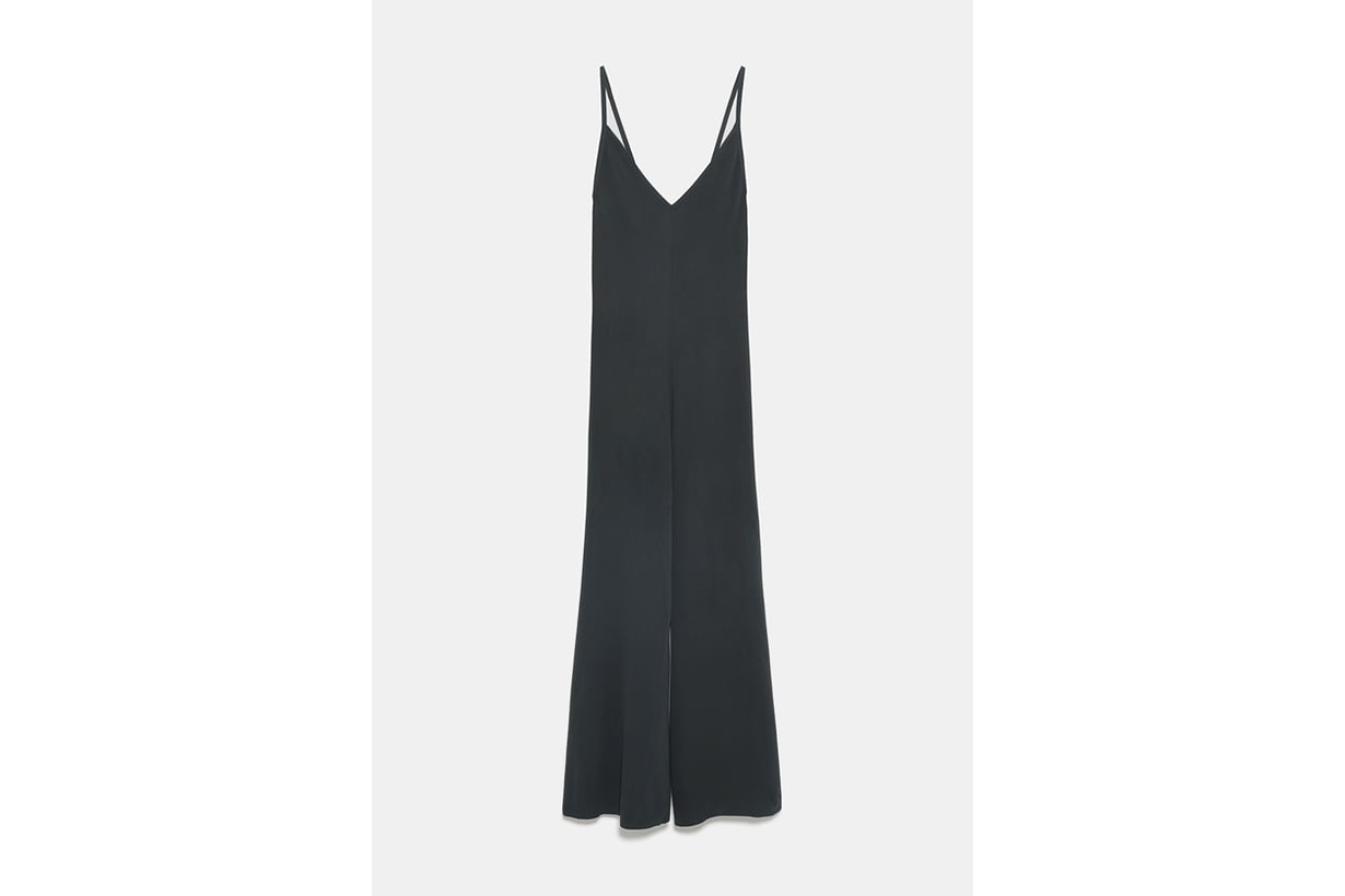 Zara Limited Edition Knit Jumpsuit