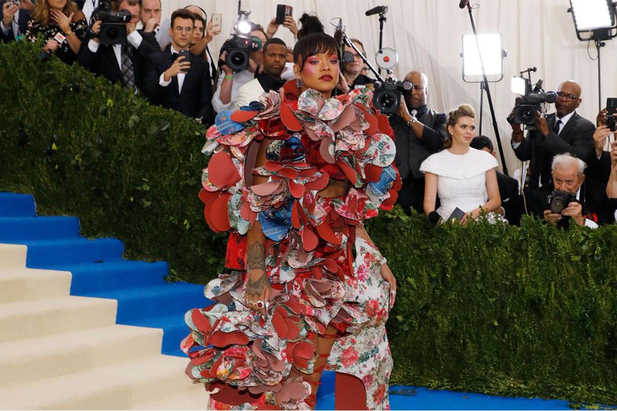 Rihanna Met Gala Red Carpet