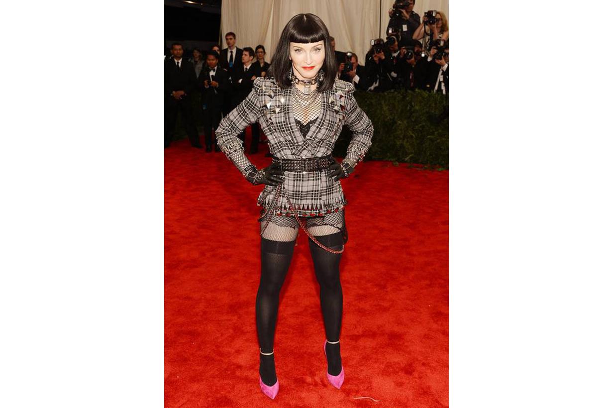 Madonna Met Gala Look