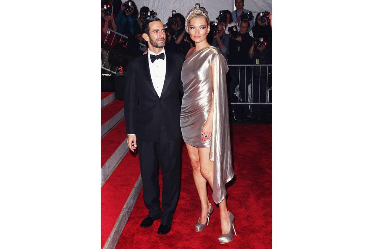 Kate Moss Met Gala Look 2009