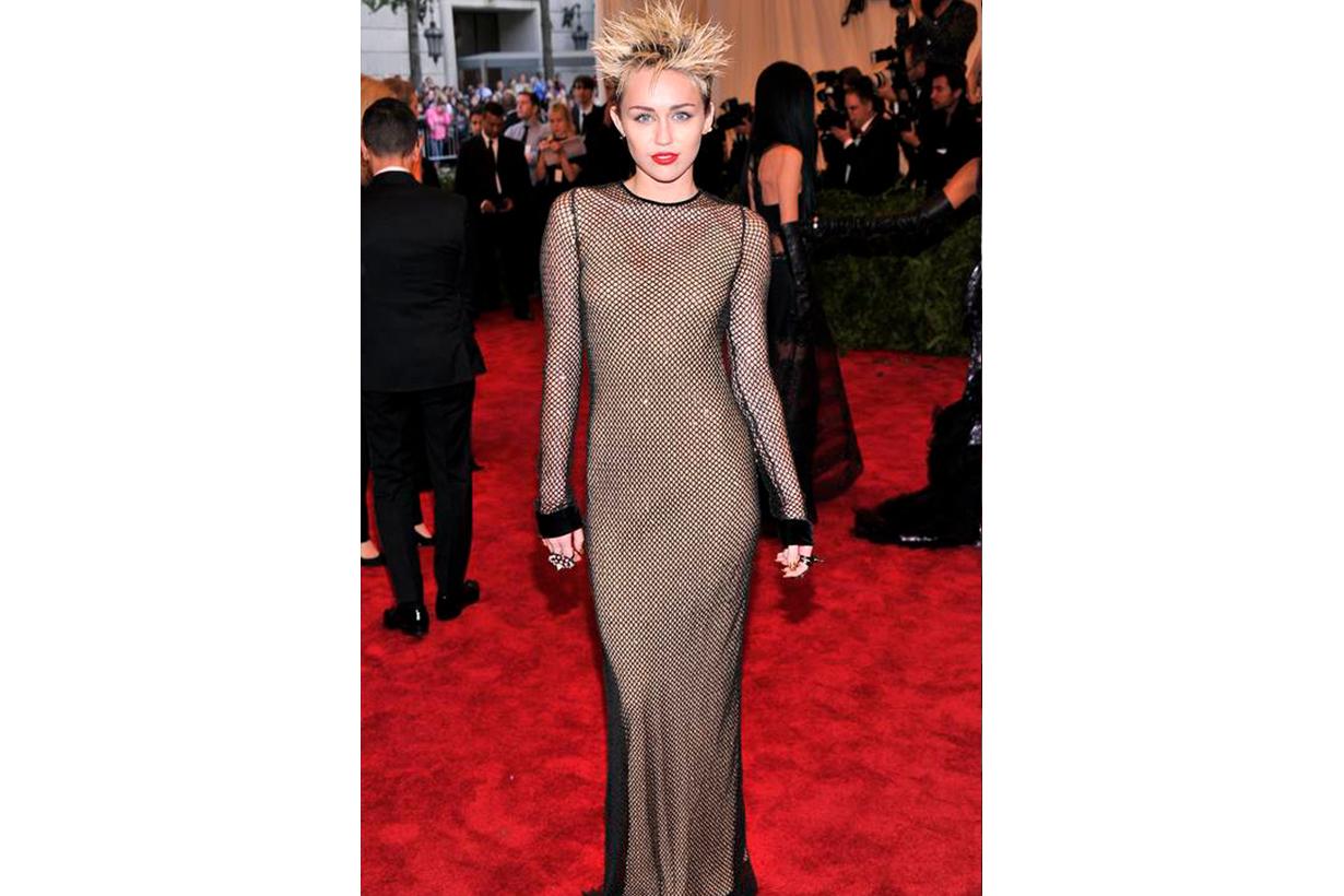 Miley Cyrus Met Gala Look