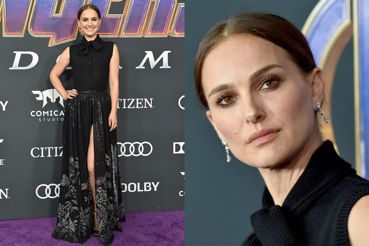 natalie portman end game premiere