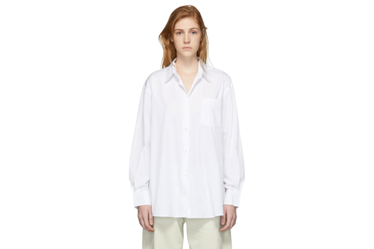 Our Legacy White Lend Shirt