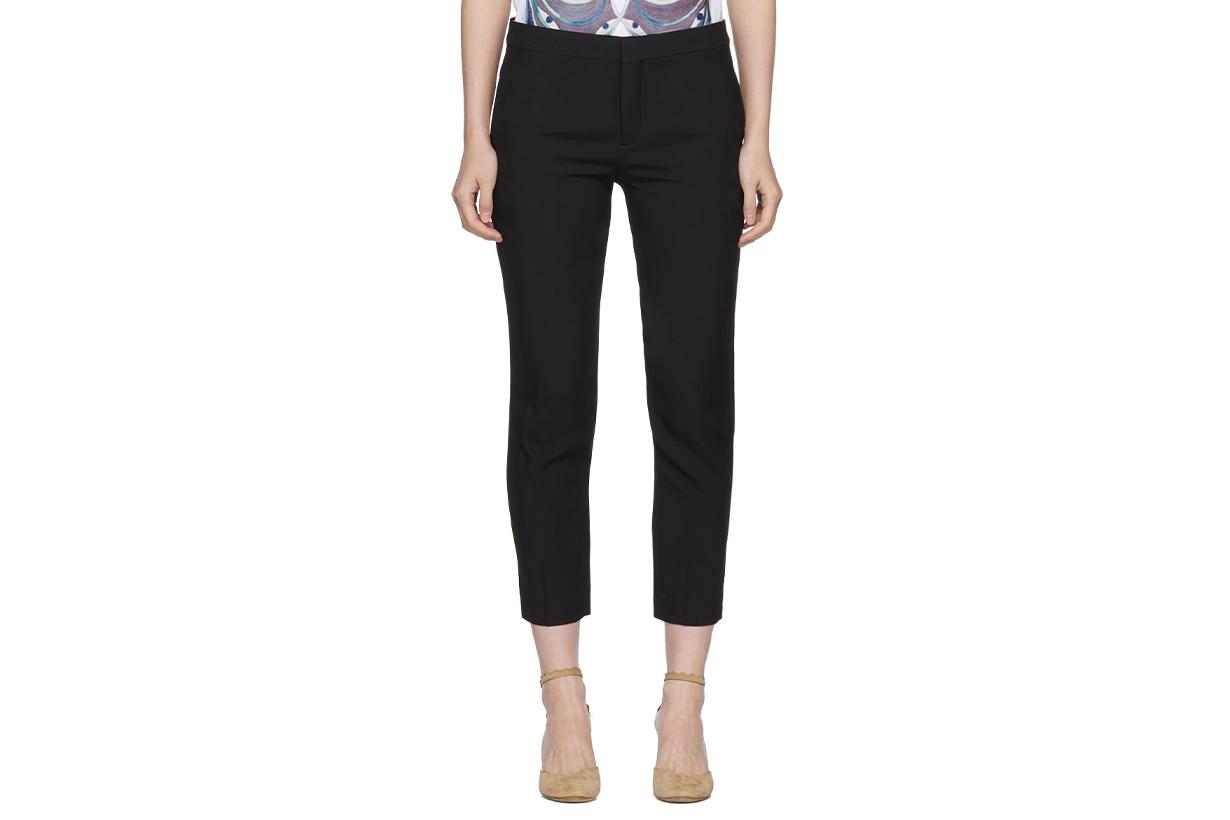 Chloé Black Twill Trousers